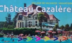 Bord Château Cazalères compleet
