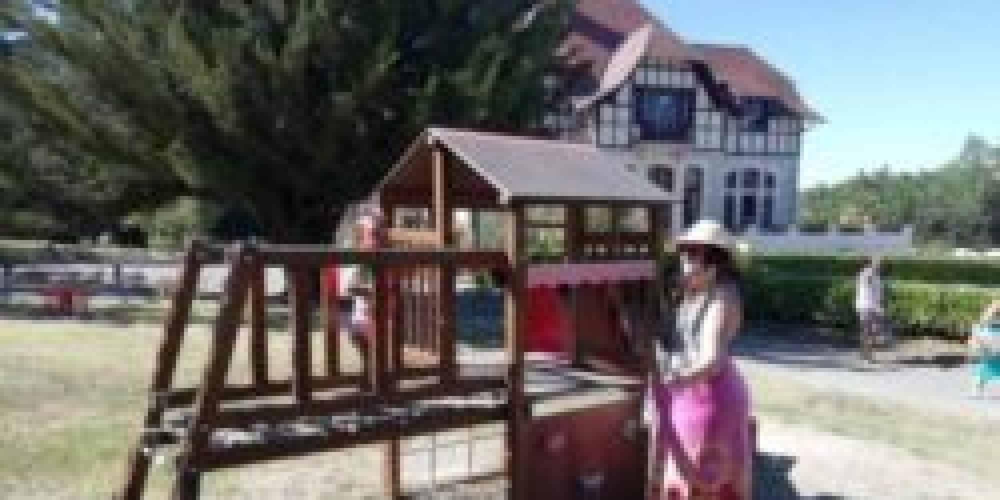 Vakantiepark Château Cazalères Speeltuin