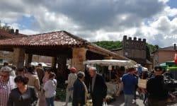 Toerisme Ariège Montbrun Bocage Markt