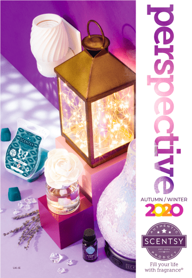 new 2020 Scentsy Spring Summer catalogue uk and ireland cover
