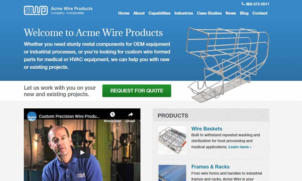 Acme Wire Products Company, Incorporated