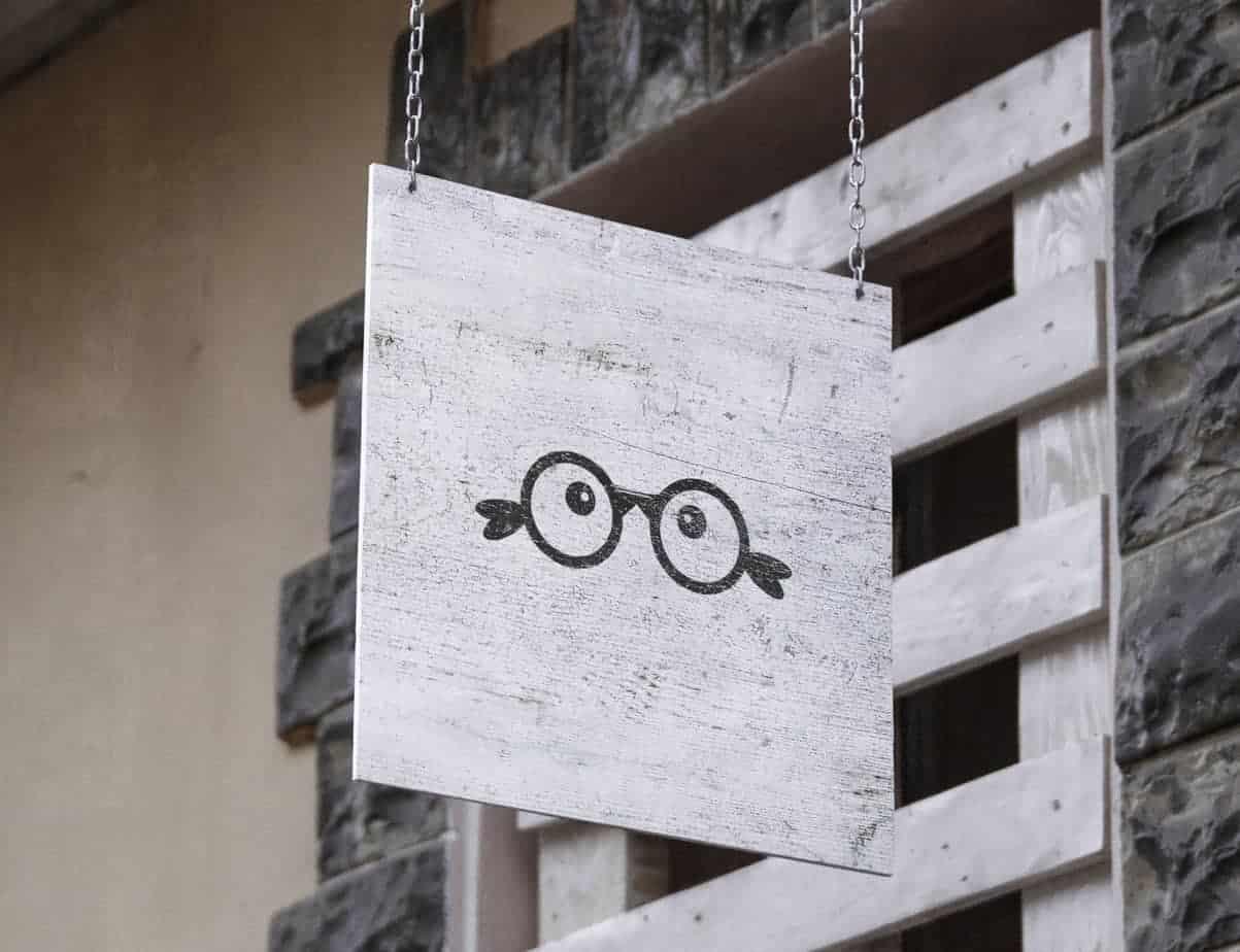 Bird's Eye Logo Sign