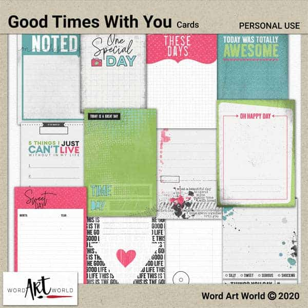 Journal Cards