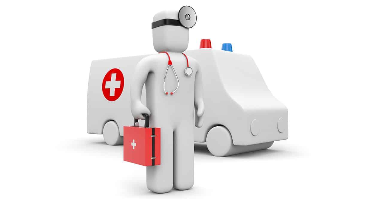 Klinik App Vorteil: Notfall Assistent