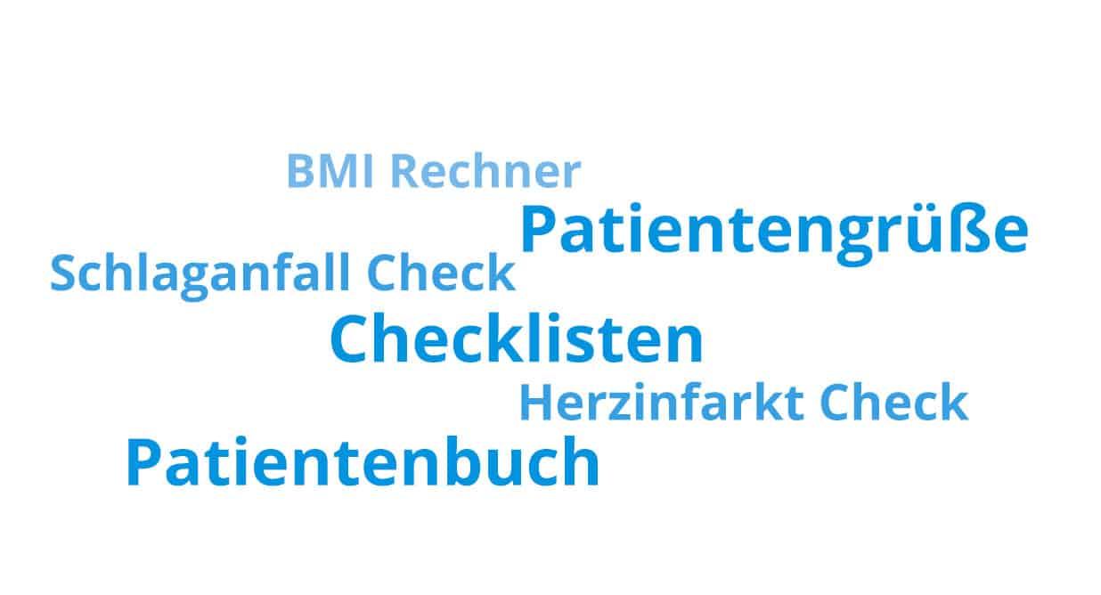 Klinik App Vorteil: Zusatzfunktionen