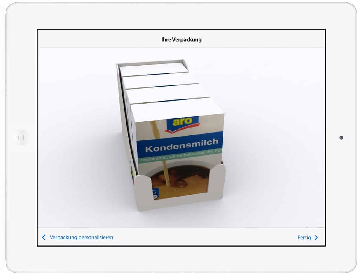 Verpackungs-App