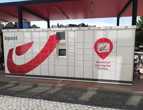 Rebranding Pakjesautomaten bpost