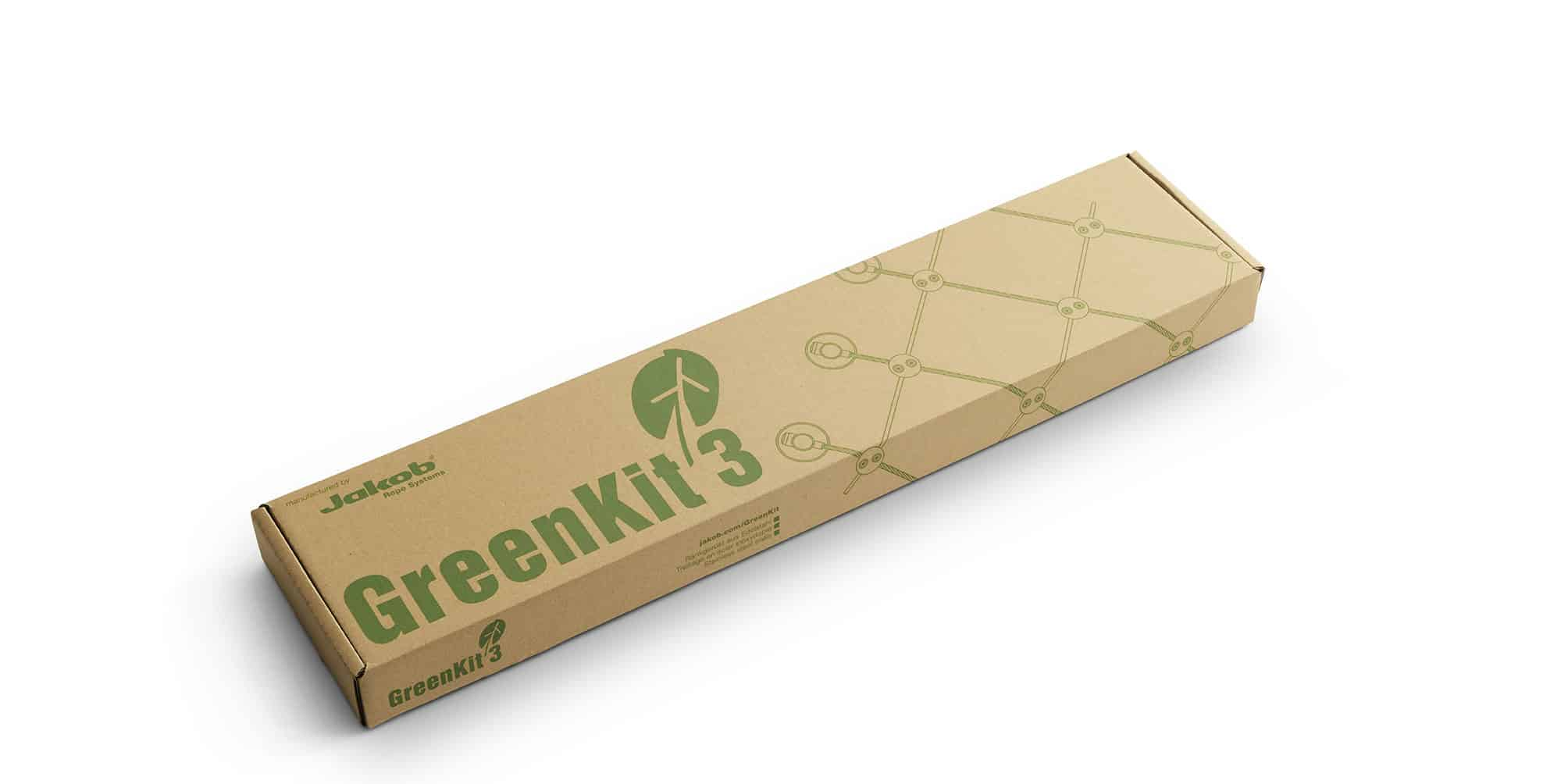 Jakob Rope systems GreenKit package forpackning