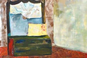 Rana Samara, Intimate Space #5, 2015, acrylic on canvas, 171 x 201 cm