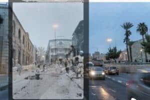 Jack Persekian, Digging Jaffa Road #2, 2018, Fine Art Paper, 35 × 50 cm