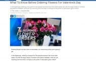 Secret Shoppers Rate Valentine's Day Flowers