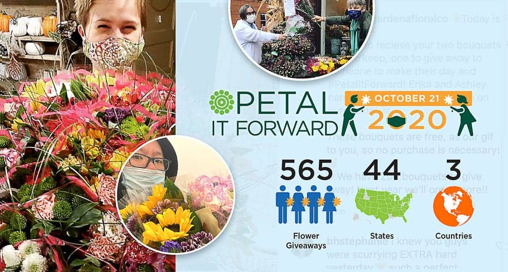 Hundreds of Floral Pros Share Powerful Messages During Petal It Forward