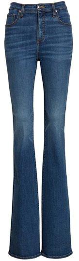 Veronica Beard flare jeans | 40plusstyle.com