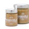 Crema spalmabile mandorla e melata di montagna miele biologico agape agricoltura italia