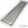 Polycast-DG0657R-TDSdrains stainless perforated reinforced Polycast grate
