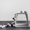 GraphicGrey05 100x100 - IRISLIGHTS valguskett Graphic Grey, 35 palli