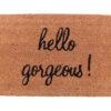 19536 100x100 - Uksematt Hello gorgeous