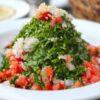 Tabbouleh sałatka libańska z kaszą bulgur