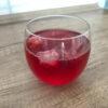 Kompot wiśniowy ze świeżych wiśni z lodem