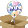 Ballon à offrir Joyeux anniversaire jolis papillons