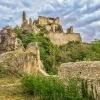 gems of Wachau Duernstein castle ruins