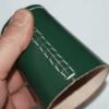 Lederen Dobbelbeker | Pokerbeker Groen 9cm