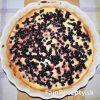 Koláč s drobným ovocím a mascarpone