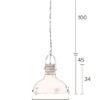 Raw 6 100x100 - Подвесной светильник DUTCHBONE Raw
