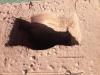 wylot przewodu kominowego po frezowaniu