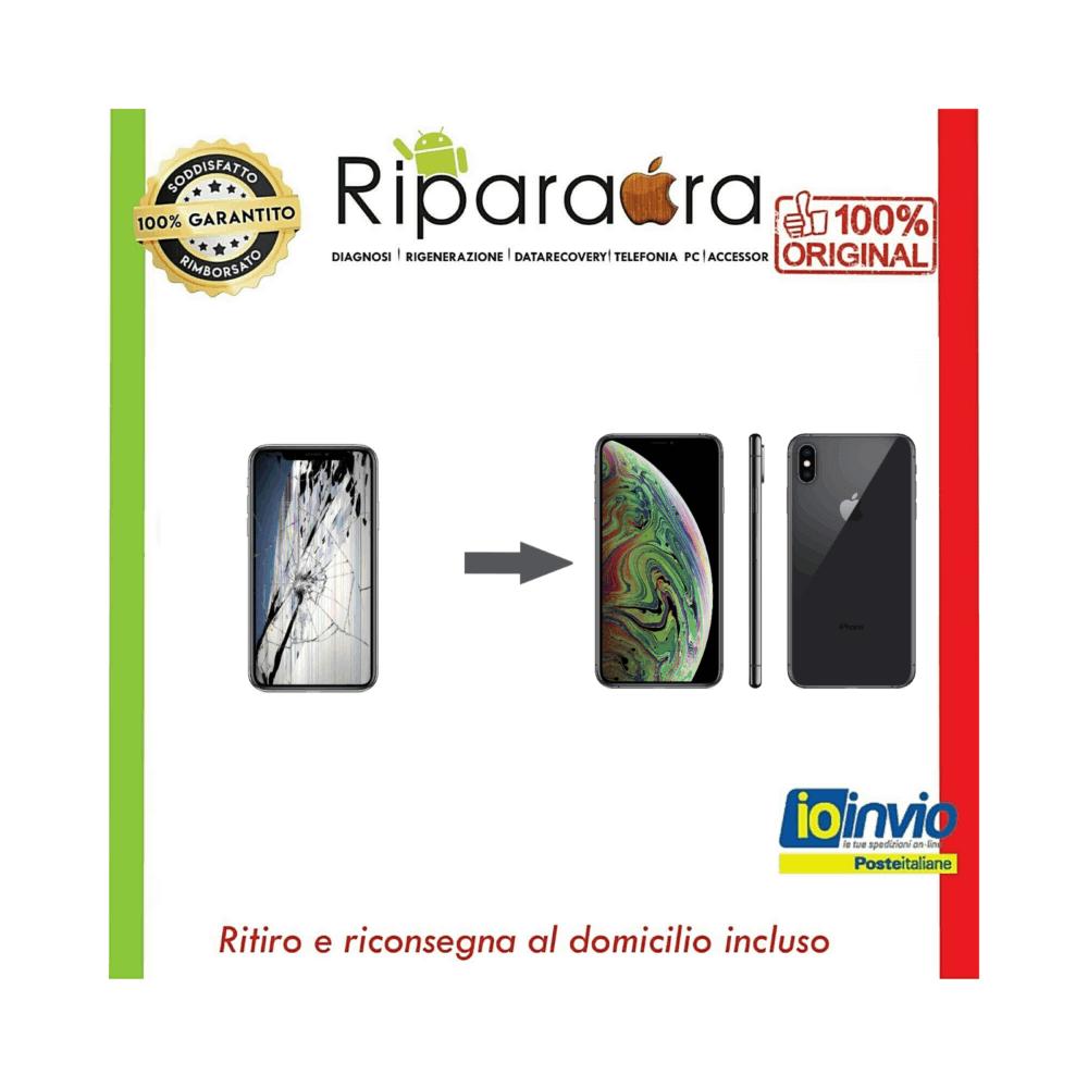 rigenerazione vetro iphone 11 pro