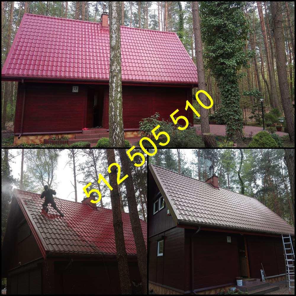 Mycie dachu z blachy w Bydgoszczy