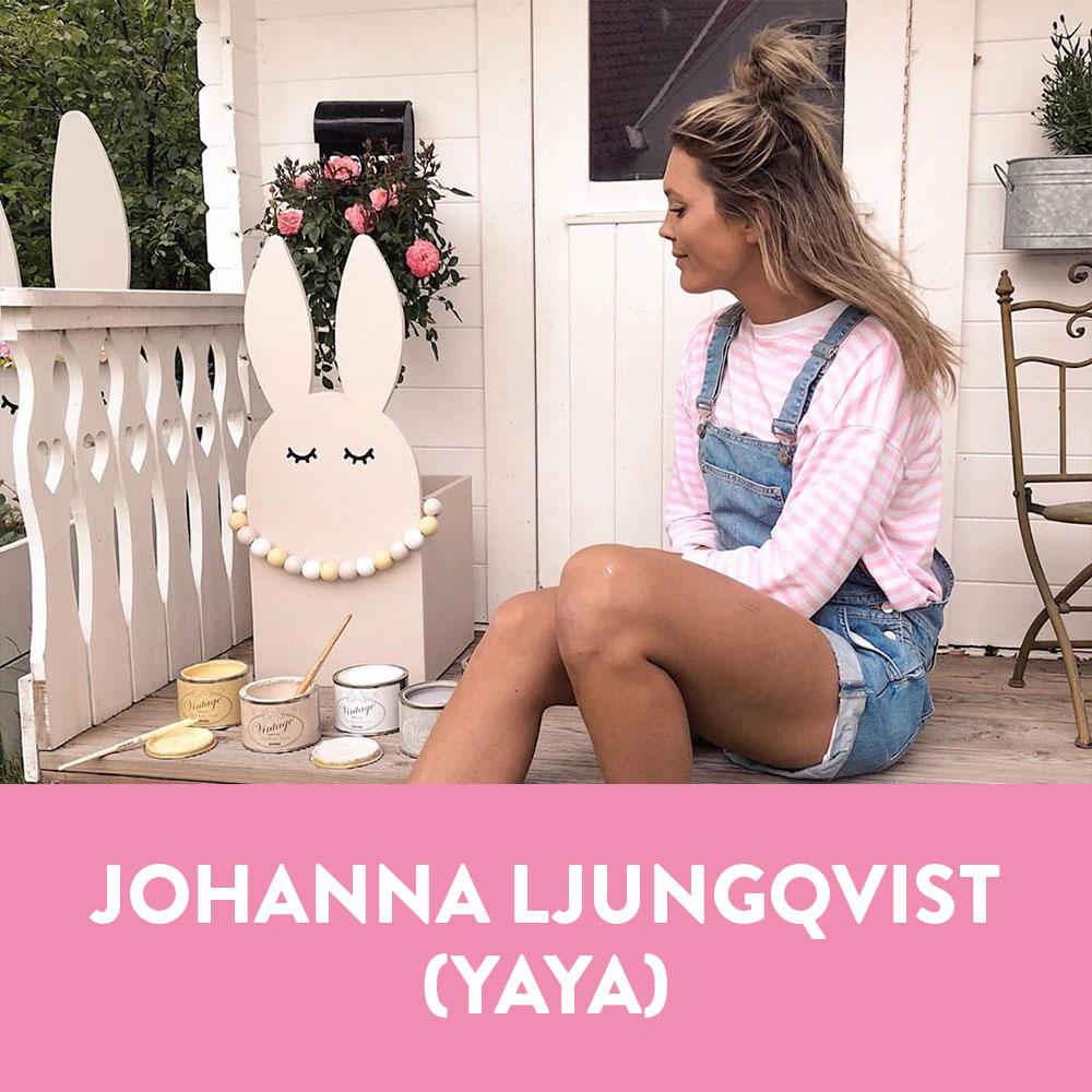Influencers i Sverige - Johanna Ljungqvist (Yaya)