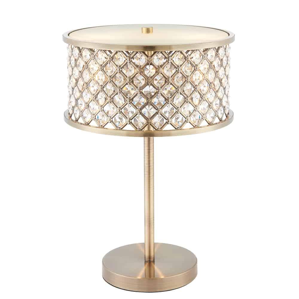 Hudson 2 Light Table Lamp