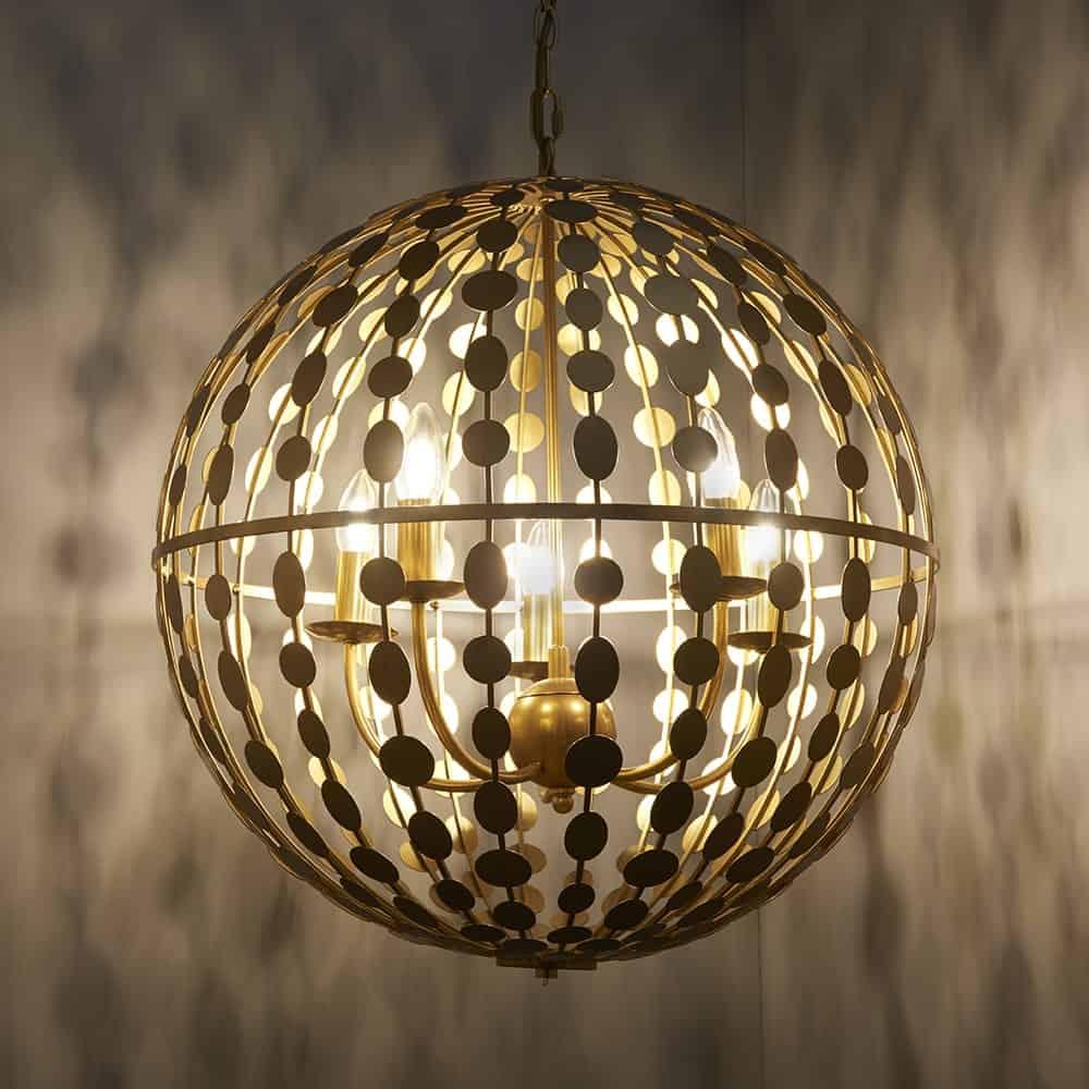Alvah 5 Light Pendant
