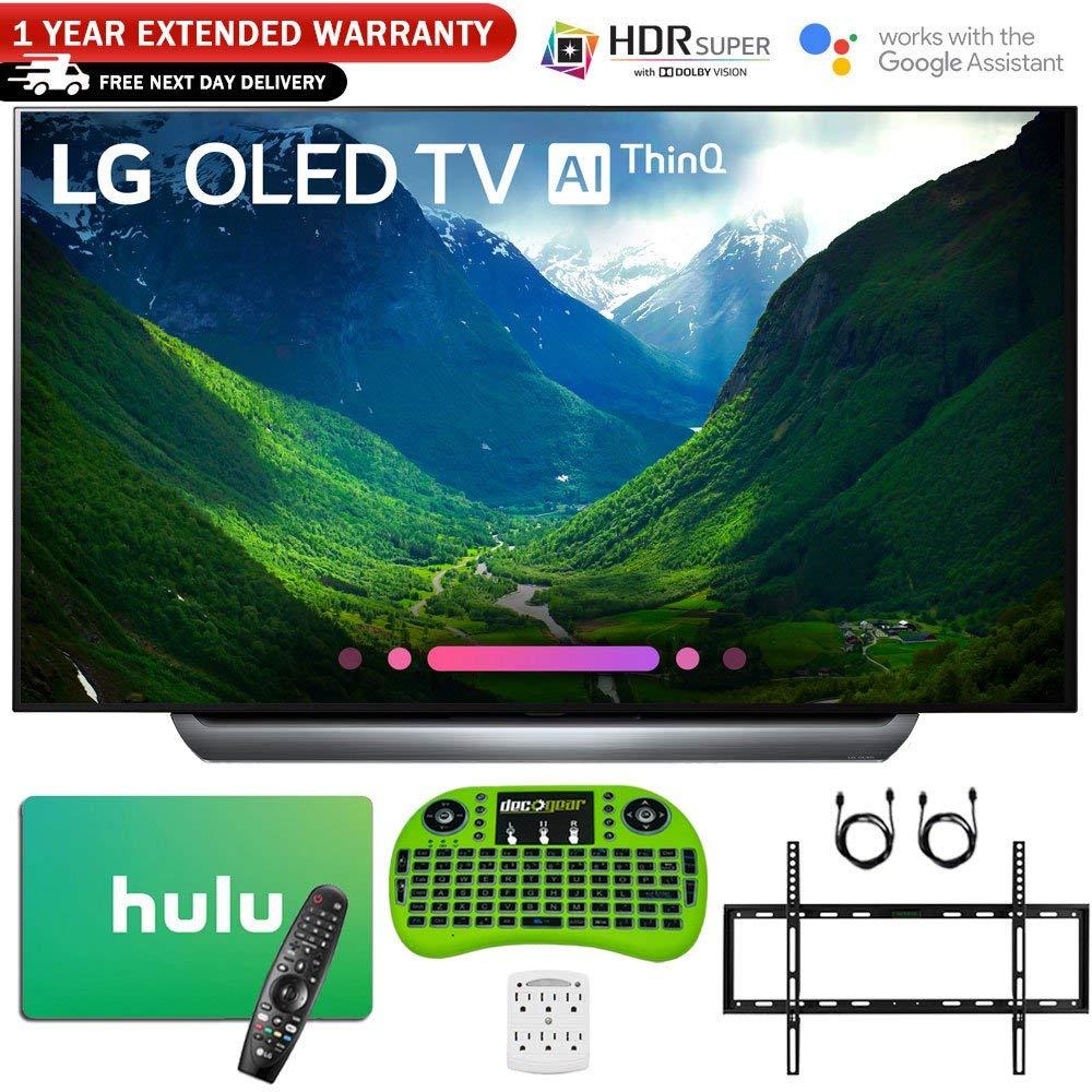 LG C8 OLED 4K HDR AI Smart TV (2018), 65 inches