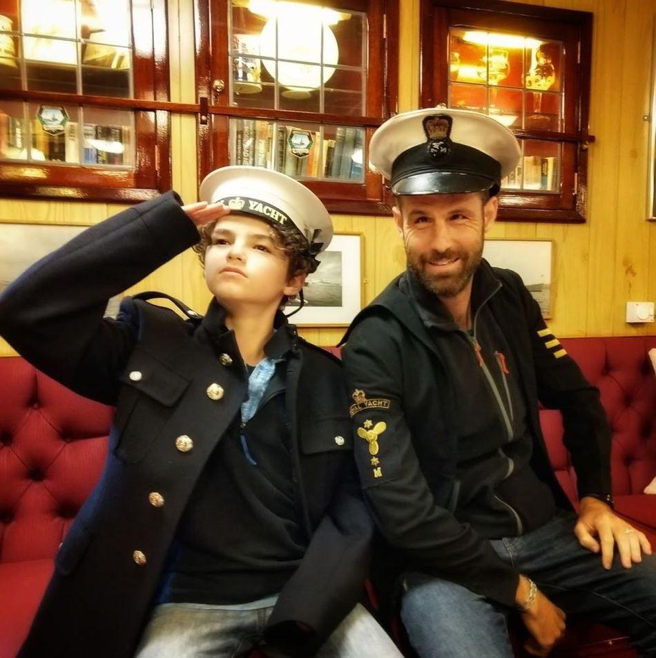 Royal yacht Britannia Officers Mess Sailors Uniforms