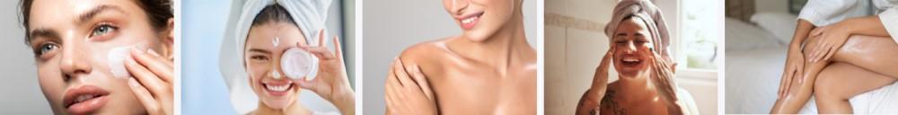 Girls using Eminence Skincare