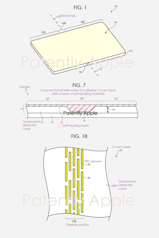Apple ecrãs dobráveis