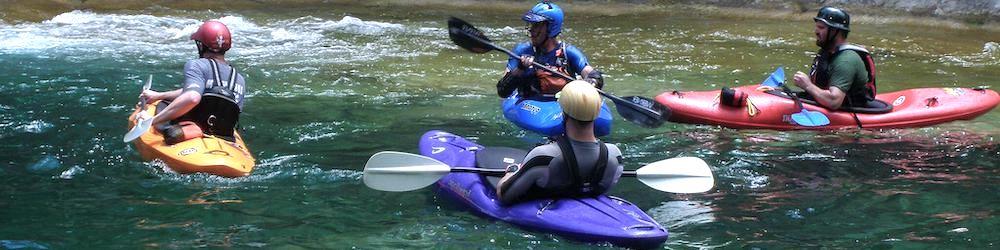 Водные развлечения - тимбилдинг на байдарках