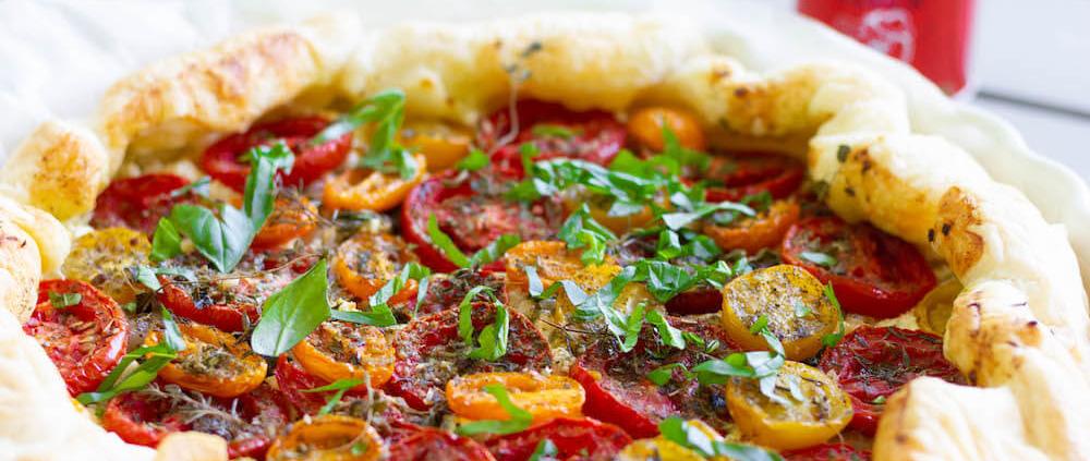 tomaten galette rezept italienisch
