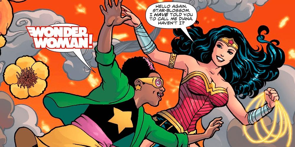 Wonder Woman, Star-Blossom, DC Comics, First Superhero