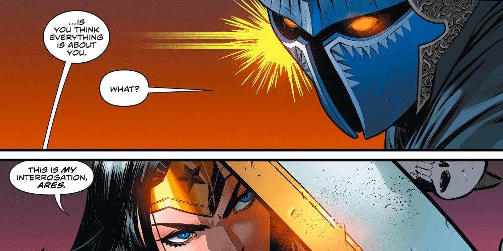 Ares, Wonder Woman #750, Celebration, DC Comics, Princess Diana