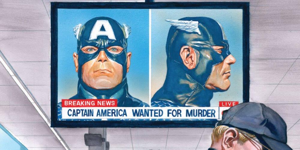 Captain America, Ta-Nehisi Coates, Secret Empire, Marvel Comics