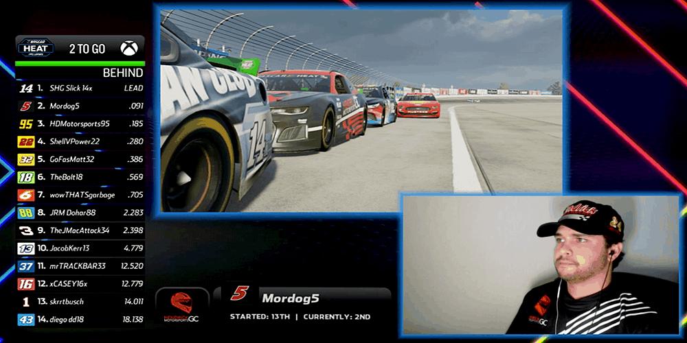 NASCAR esports event