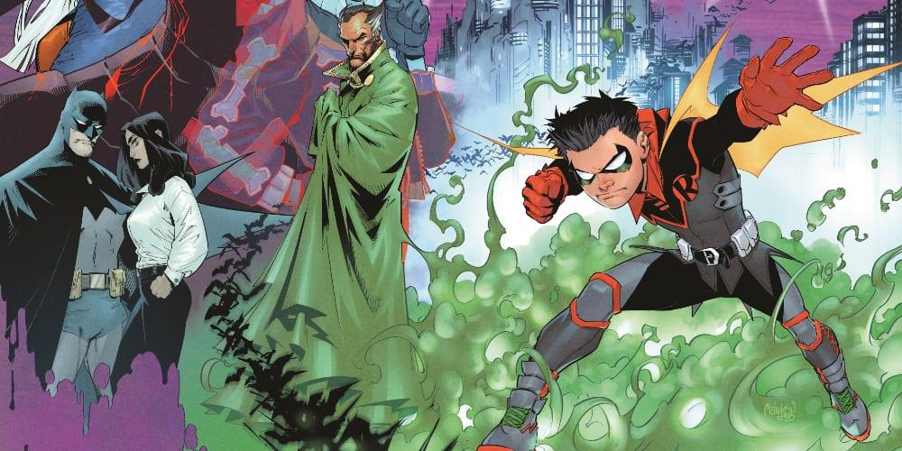 Damian Wayne Robin Ongoing Series, DC Comics, Batman, Ras Al Ghul, Tahlia Al Ghul, Lazarus Pit, Joshua Williamson, Teen Titans, Gleb Melikov