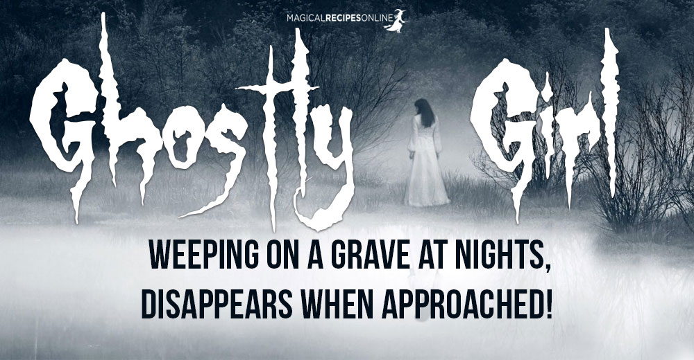 Ghostly apparition in Turkey: Girl weeping on a grave at nights, disappears when approached!