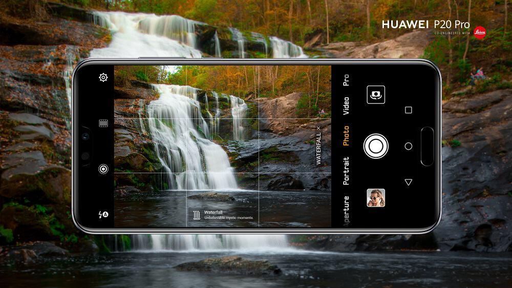 Nejnovější verze vlastního uživatelského prostředí Emotion UI 8.1 pro P20tky