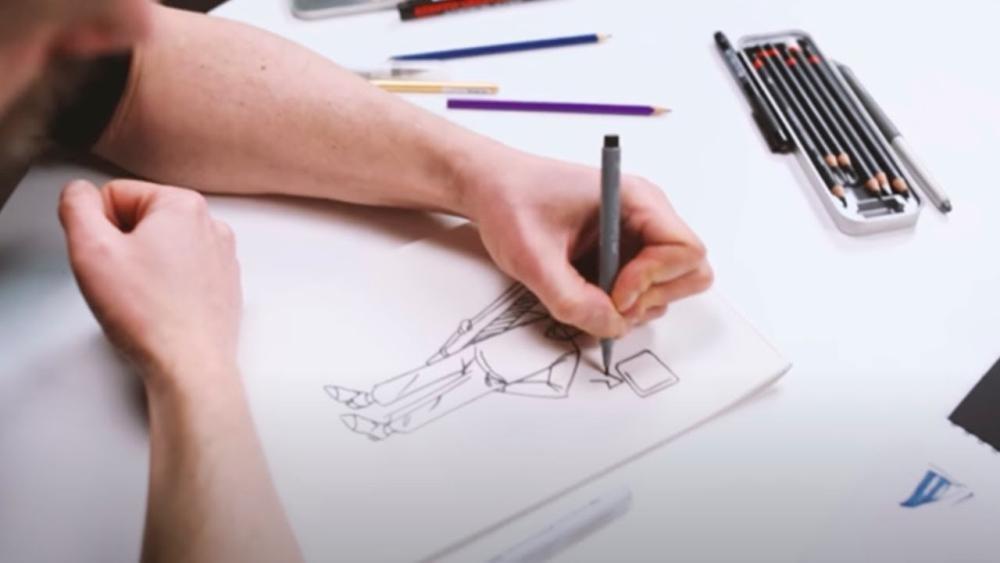 Курс «Скетчинг для дизайнеров» от Skillbox