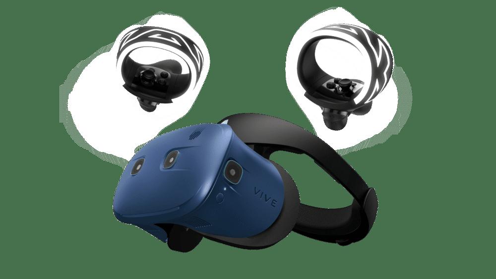 HTC Vive Pro Eye umožní ovládání virtuální reality pohledem: 2019