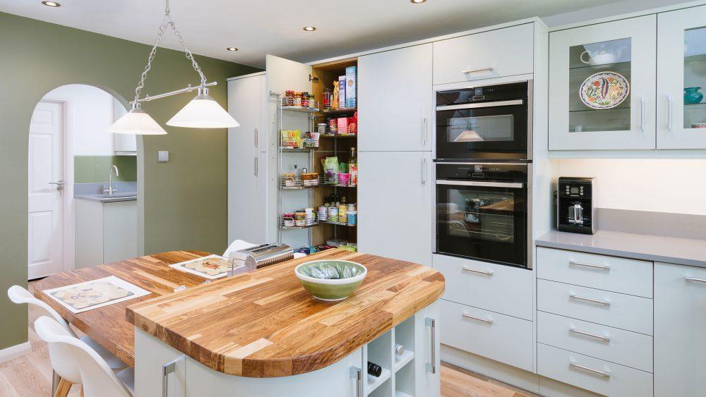 Bespoke Kitchen West Sussex storage